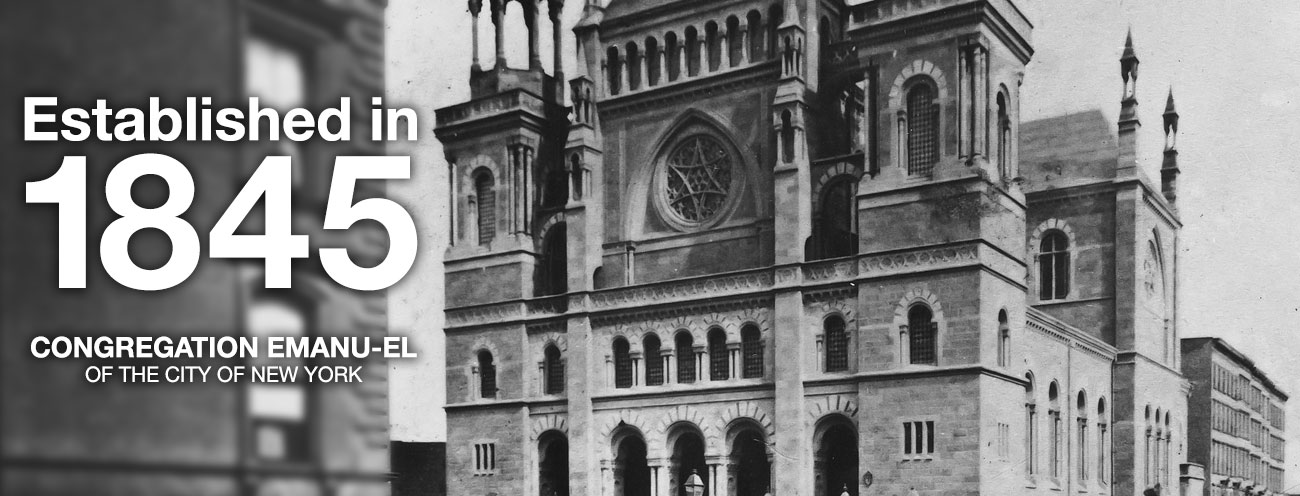 Our History - Temple Emanu-El