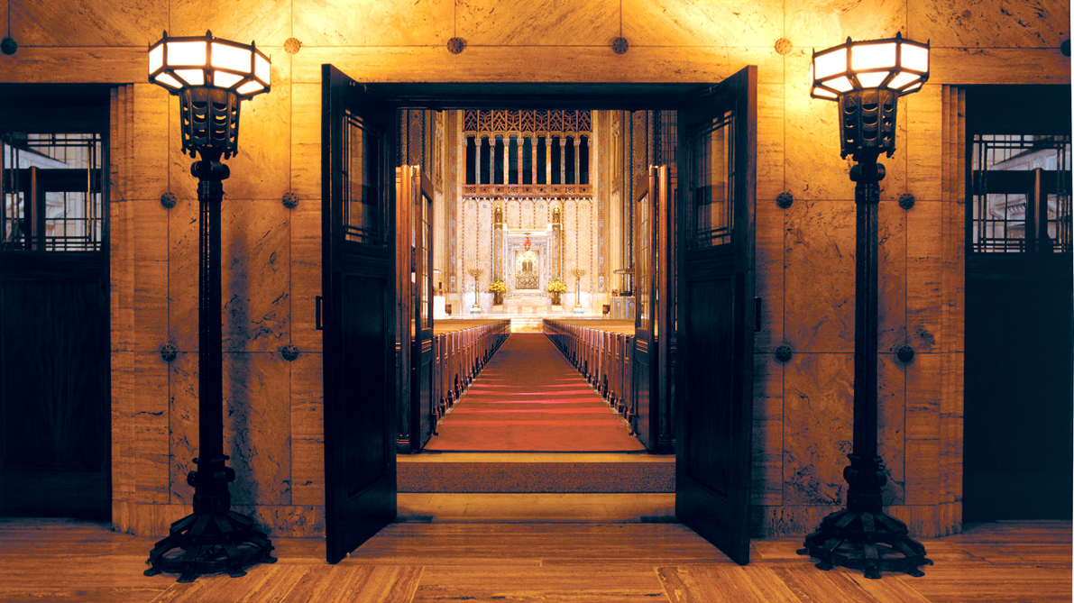 sanctuary, fifth avenue entrance, doors
